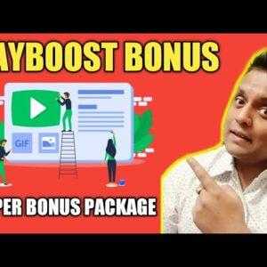 Playboost Bonus  - 👍 Huge Bonus Package 👍 [Playboost Review Bonuses 2019]