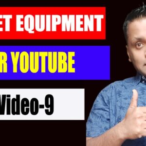 Best Budget Youtube Equipment for Beginners in 2020