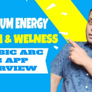 """Limbic Arc Web App Overview   First Quantum Energy Wellness Product """"InfoBoost"""""""