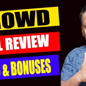 Krowd Full Review, Demo & Bonuses | How to Make Money from Pinterest Free Traffic