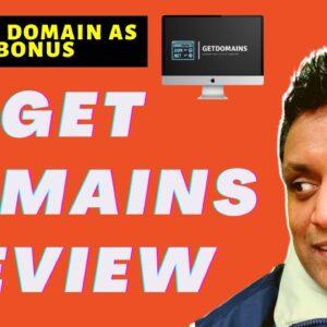 Get Domains Review - FREE DOMAIN As My BONUS 🤑