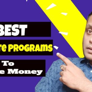 Highest Paying Affiliate Programs 2020