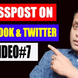 How To Cross Post Your Video to Facebook & Twitter