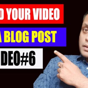 How To Embed Your YouTube Video in Wordpress Blog Post