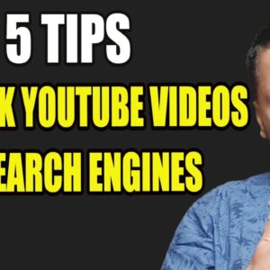 How to Rank Youtube Videos in 2021 - My TOP 5 TIPS for Ranking my Videos