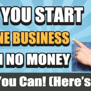 How to Start Online Business 📈 with No Money