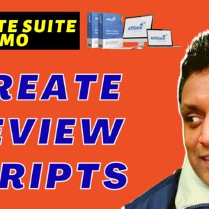 Affiliate Suite Review & Demo | How To Create Review Scripts in Affiliate Suite