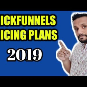 Clickfunnels Pricing Plans 2019 | Newest Plans | Clickfunnels Cost Per Month