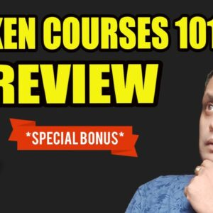 Kraken Courses 101 Review, Demo & EXCLUSIVE BONUSES