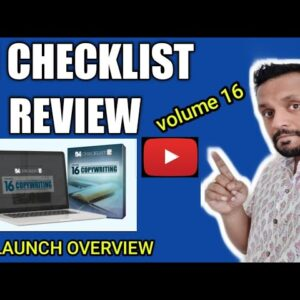 IM Checklist Vol 16 Review - 18 STEP-BY-STEP COPYWRITING CHECKLISTS| Pre Launch Overview