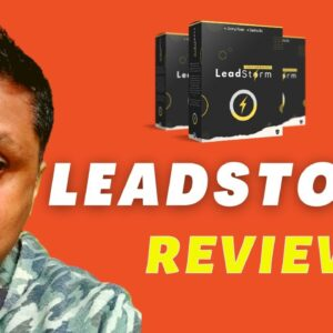 LeadStorm Review - FREE BUYER TRAFFIC from FOUR UNTAPPED SOURCES
