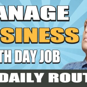 ➡️My Daily Routine - How To Manage Online Business Along With Full Time Day Job !⬅️