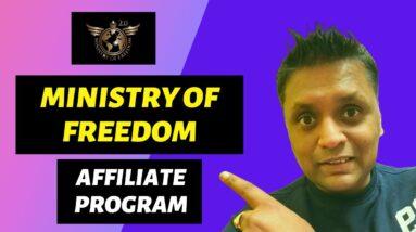 Ministry Of Freedom Affiliate Program