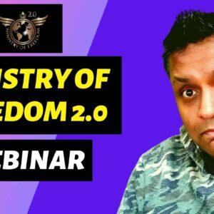 Ministry Of Freedom Webinar