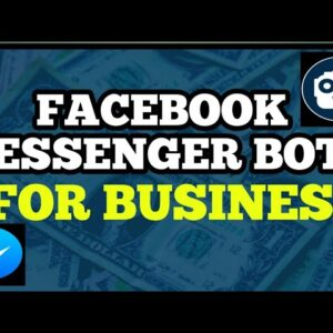 How To Drive More Visitors To Your Facebook Messenger Chatbot to build your business