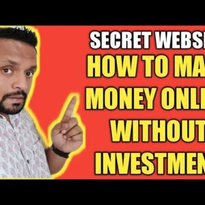 [SECRET WEBSITE] How to Make Money Online without Investment in 2019