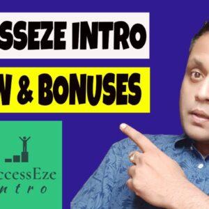SuccessEze  Intro Review, Demo & EXCLUSIVE BONUS BUNDLE