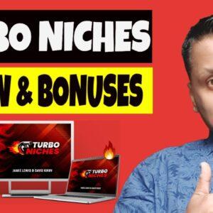 Turbo Niches Review, Demo & EXCLUSIVE BONUS BUNDLE
