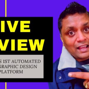 Hive Review | World's 1st Automated High Graphic Design Platform | Billy Darr