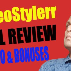 VideoStylerr Full Review, Demo & Bonuses | How to Create Video Banner, Thumbnails, Zoom Templates