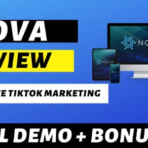 Nova Review - Smart Automation For FREE Traffic From 1 Billion Potential Buyers