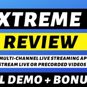 XTREME REVIEW - A Multi-Channel Live Streaming App by Billy Darr