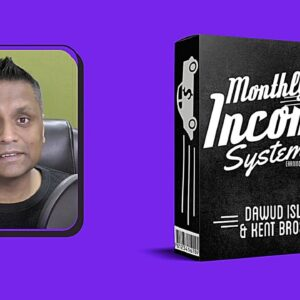 Monthly Income System Review - STOP MAKING ONE TIME ONLY SALES!