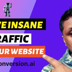 How To Write 150+ Blog Comments A Day With Conversion AI   FREE Traffic For Your Website