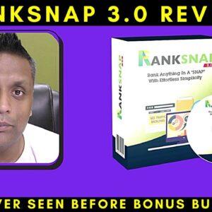 "Ranksnap 3.0 Review - Ranks Anything In A ""SNAP"""