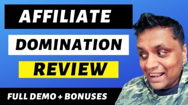 Affiliate Domination Review - Never-Released Method