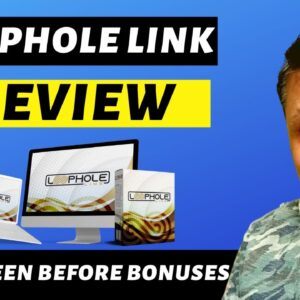 """Loophole Link Review - """"Mass-Promote� Any Link"""